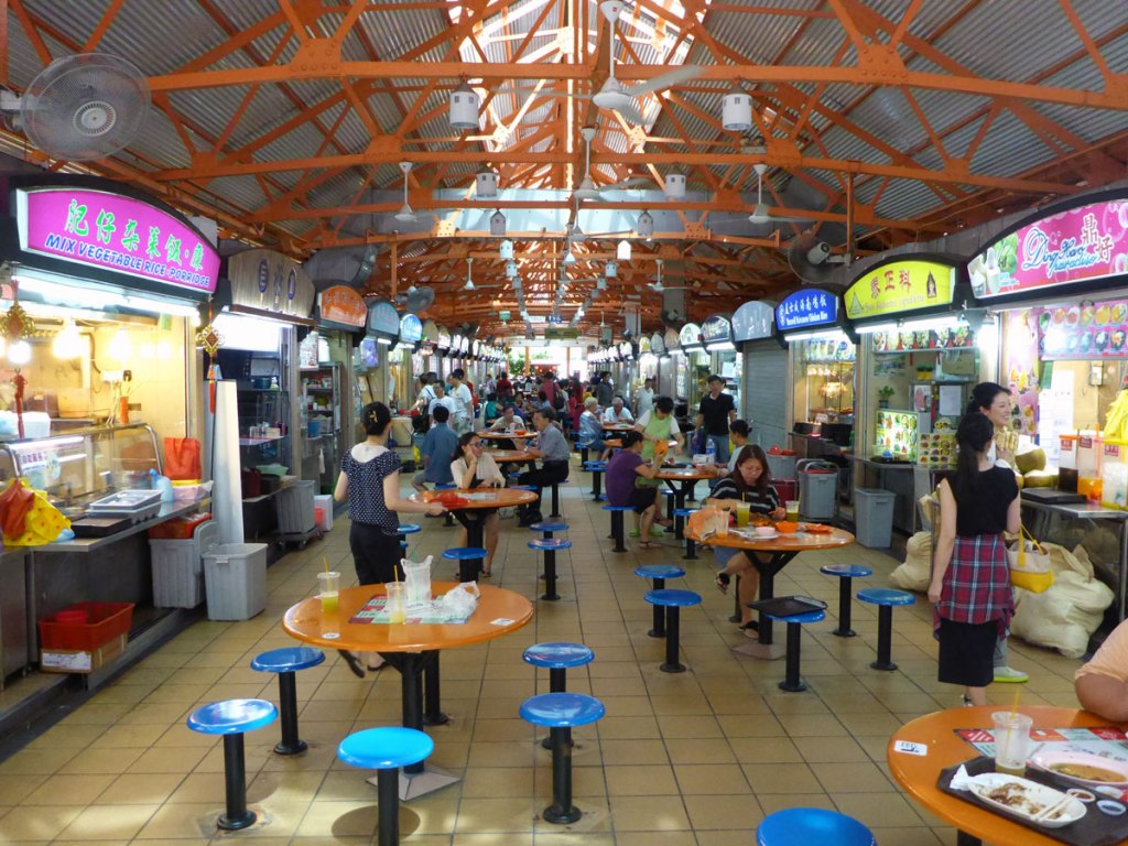 Maxim Hawker Centre Singapore