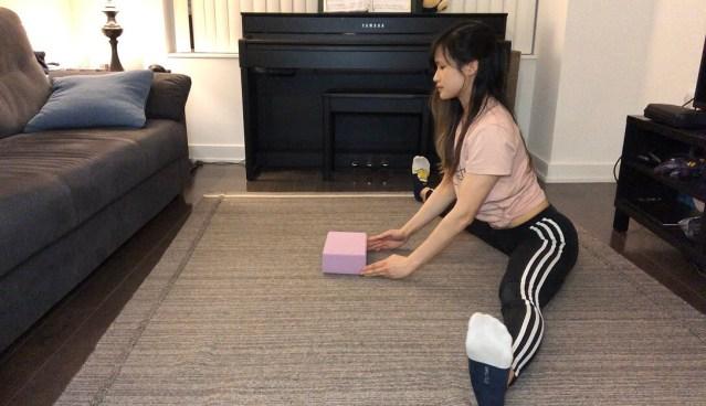 ballistic pancake stretch routine for beginners
