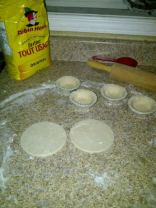 Homemade pie dough for tarts
