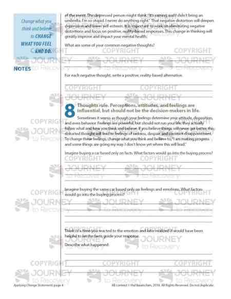 Applying Change Statements (COD Lesson)