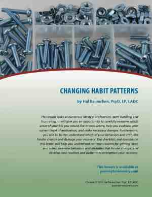 Changing Habit Patterns (COD Lesson)