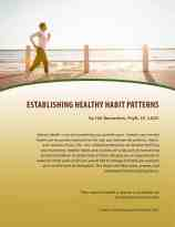 Establishing Health Habit Patterns (MH Lesson)