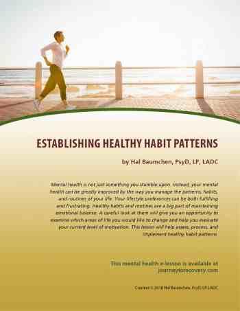 Establishing Health Habit Patterns (MH Lesson)