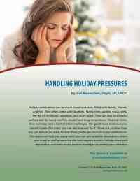 Handling Holiday Pressures (COD Lesson)