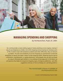 Managing Spending and Shopping (MH Lesson)