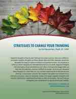 Strategies to Change Your Thinking (COD Lesson)