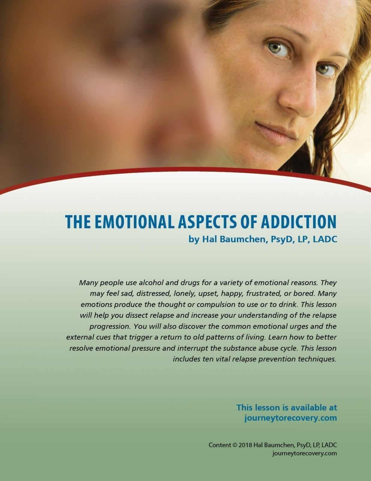 The Emotional Aspects Of Addiction Cod Lesson