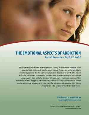The Emotional Aspects of Addiction (COD Lesson)