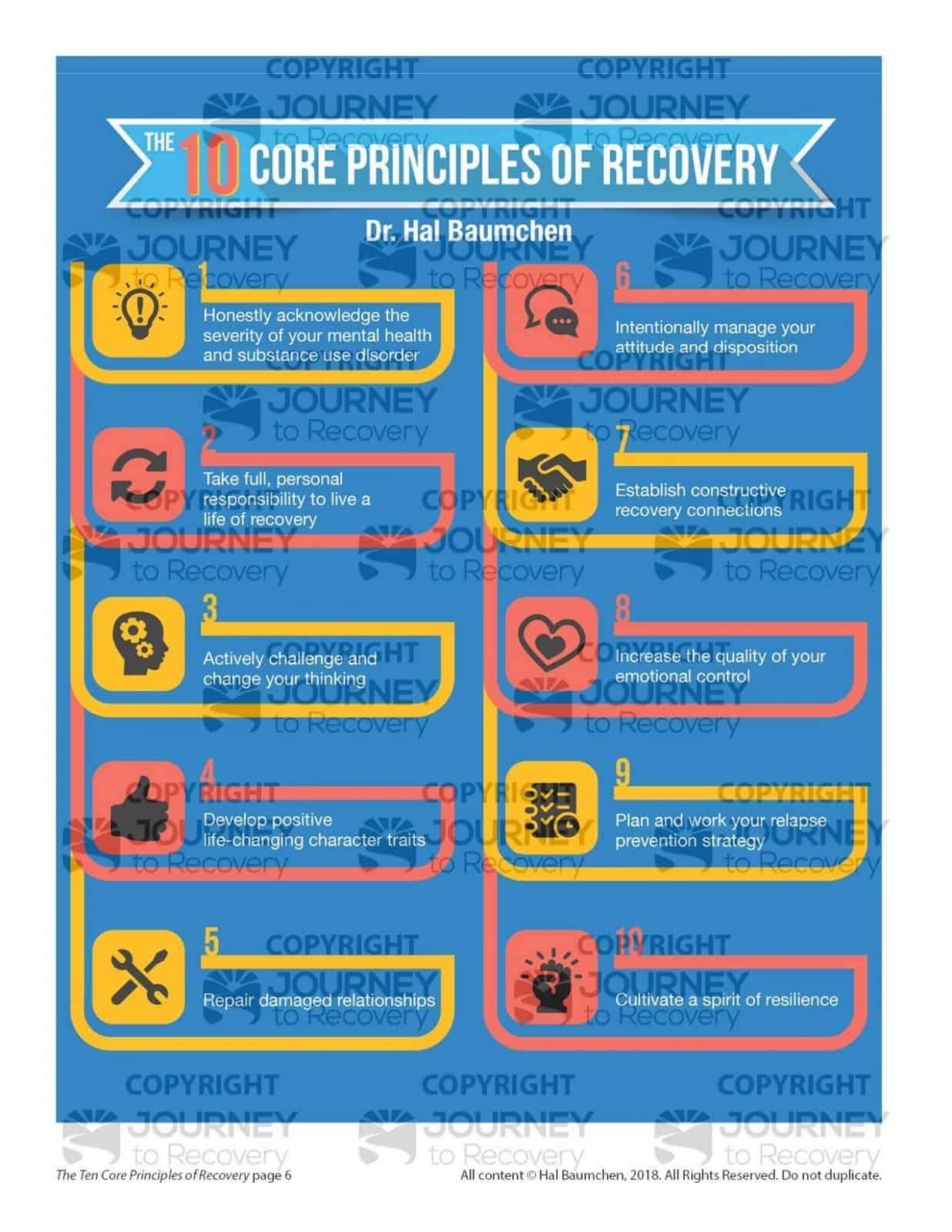 The Ten Core Principles Of Recovery Cod Lesson