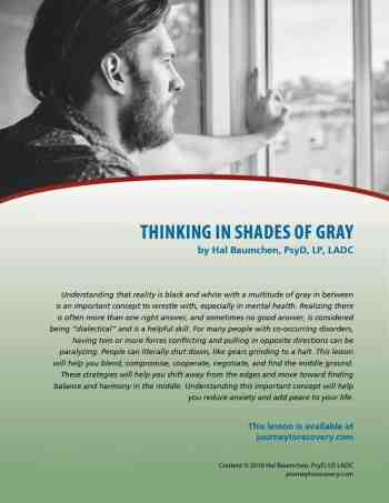 Thinking in Shades of Gray (COD Lesson)