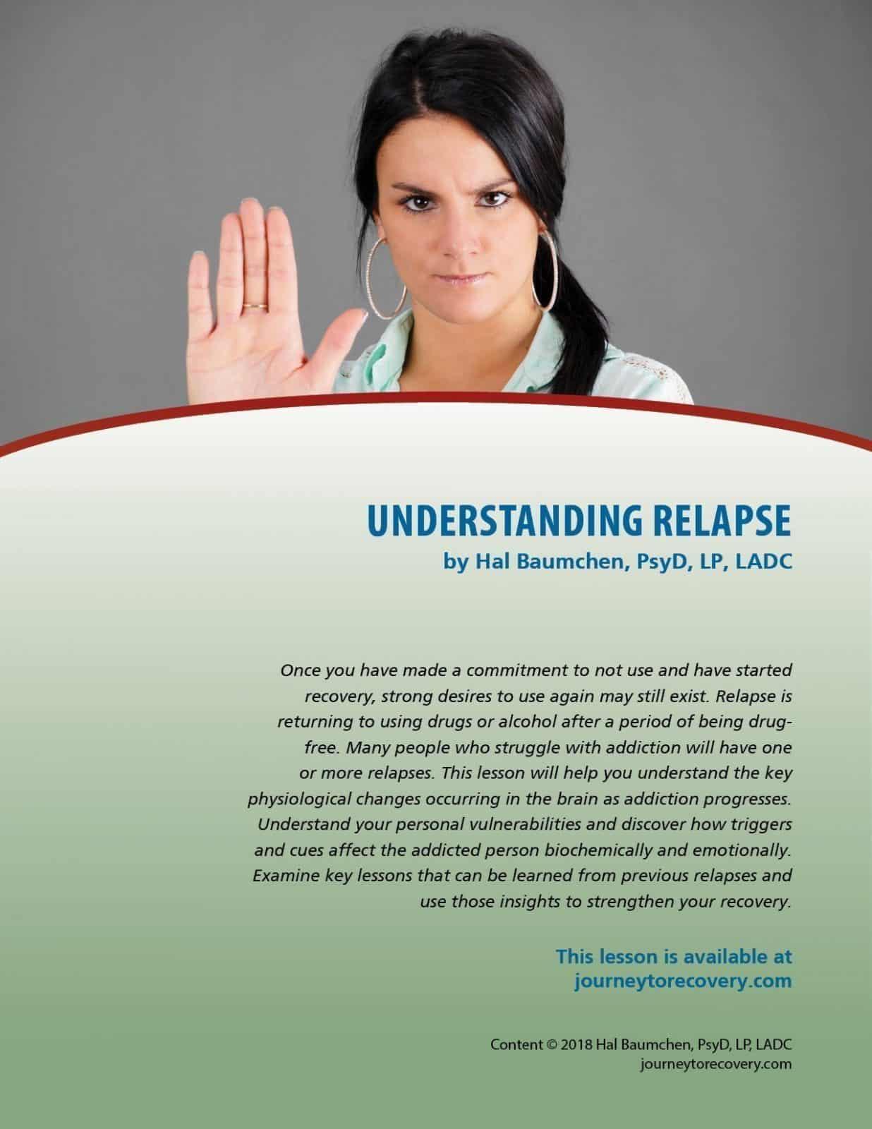 Understanding Relapse Cod Lesson
