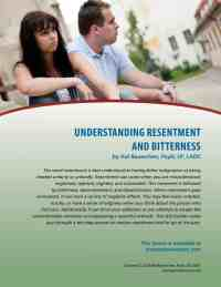 Understanding Resentment and Bitterness (COD Lesson)