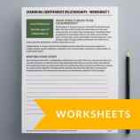 Recovery Worksheets
