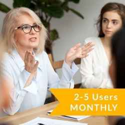 2-5 Users Subscription (Monthly)