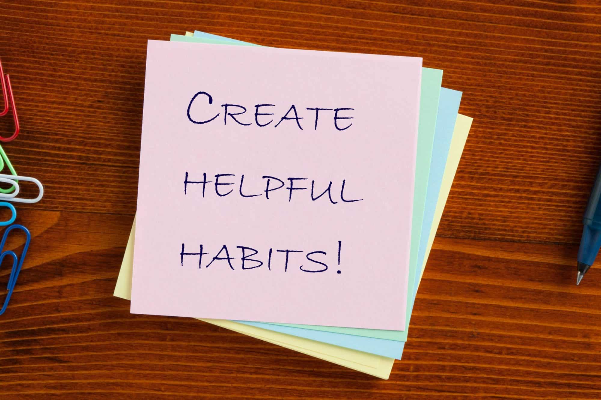 Insight for the Journey: Changing Habit Patterns