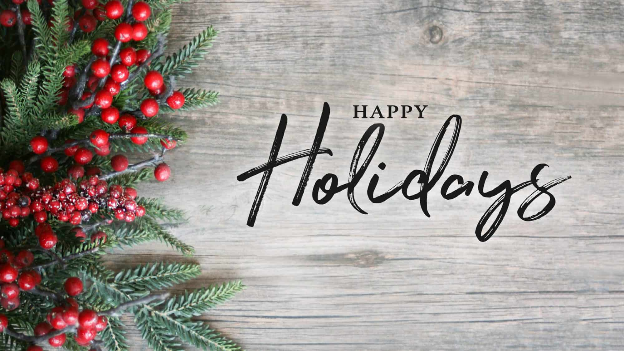 From all of us at NorthStar Regional, Happy Holidays!