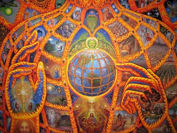 Cosmic Christ ~ Alex Grey