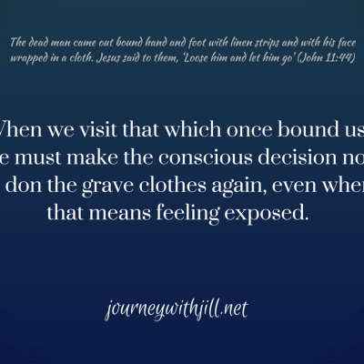 Free, but Exposed: Taking off those Grave-Clothes