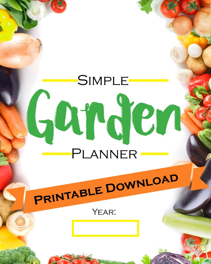 Simple Garden Planner Printable Download | Journey with Jill