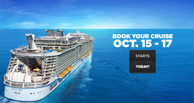 Royal Caribbean introduces 3 day WOW sale