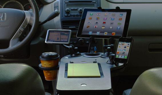 Custom Car Mobile Office  Vehicle Workstation  JourniDock