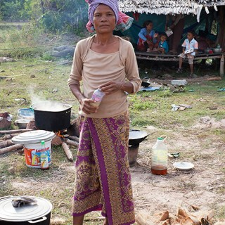 A new home for a happy Khmer family