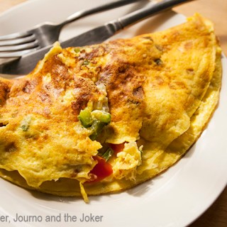 Steve's tasty omelette