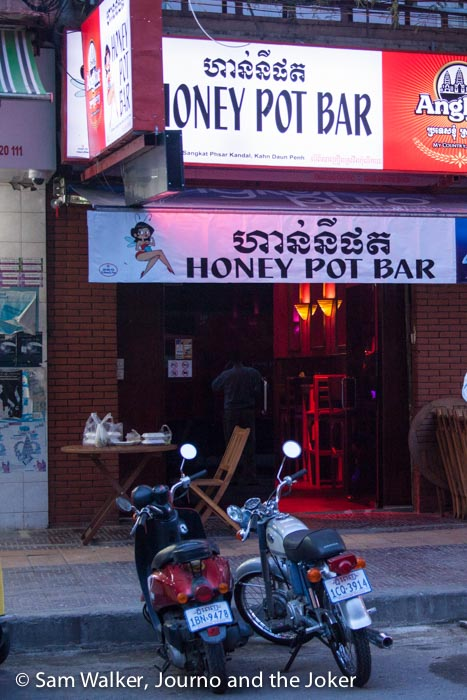 Honey Pot bar, Phnom Penh