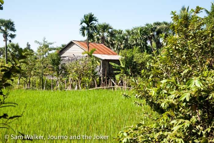 Village house, Cambodia