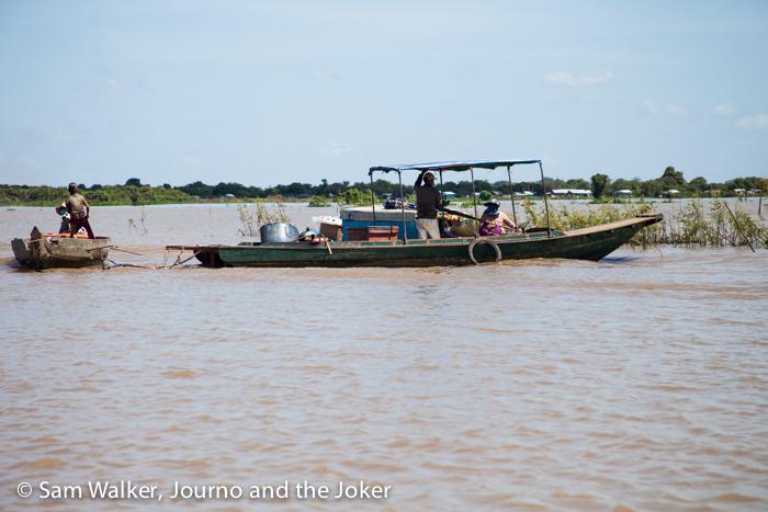 Working on Lake Tonle Sap