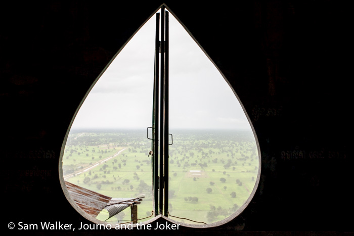 View from Phnom Sampeau, Battambang