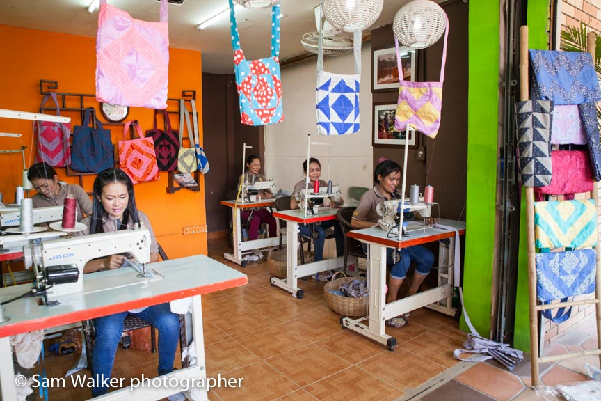 Sewing centre empowers Cambodian women