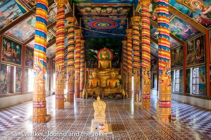 A Buddhist pagoda in Cambodia