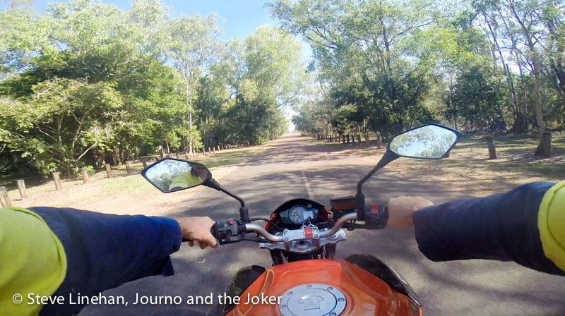 Motorbike Ride, Northern Territory