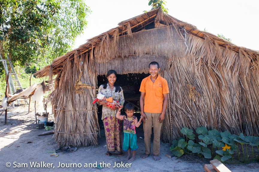 VBC builds 100th house for Cambodians