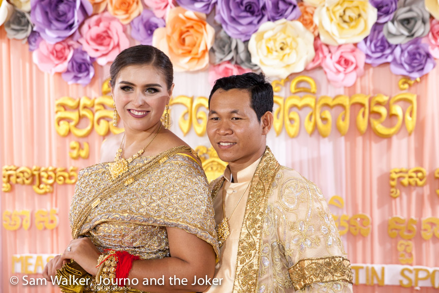 Christin and Sambath's Khmerican wedding