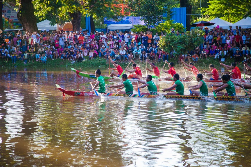 water festival in Siem Reap