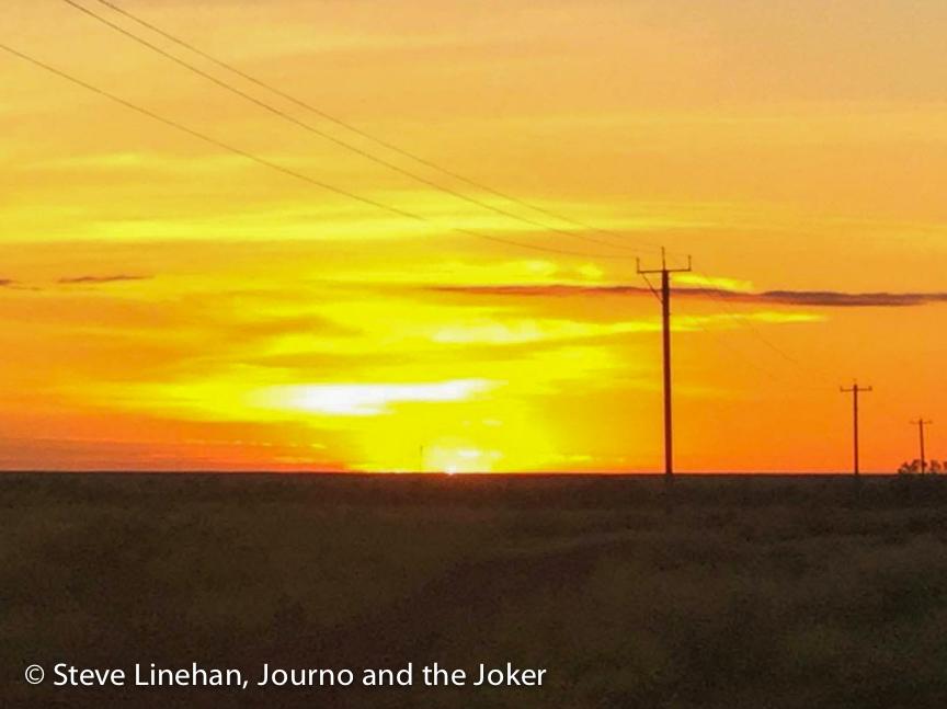 Sunrise, sunset Western Australia