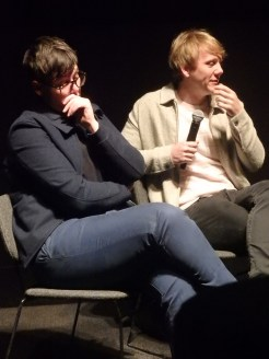 Hannah Gadsby and Josh Thomas