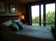Our room, which opened onto the gardens and ocean view.