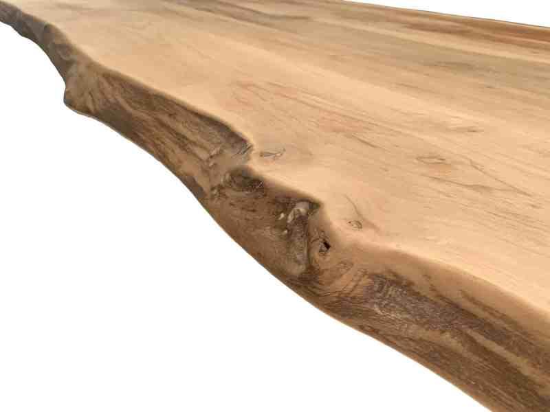 Walnoot boomstamkant blad