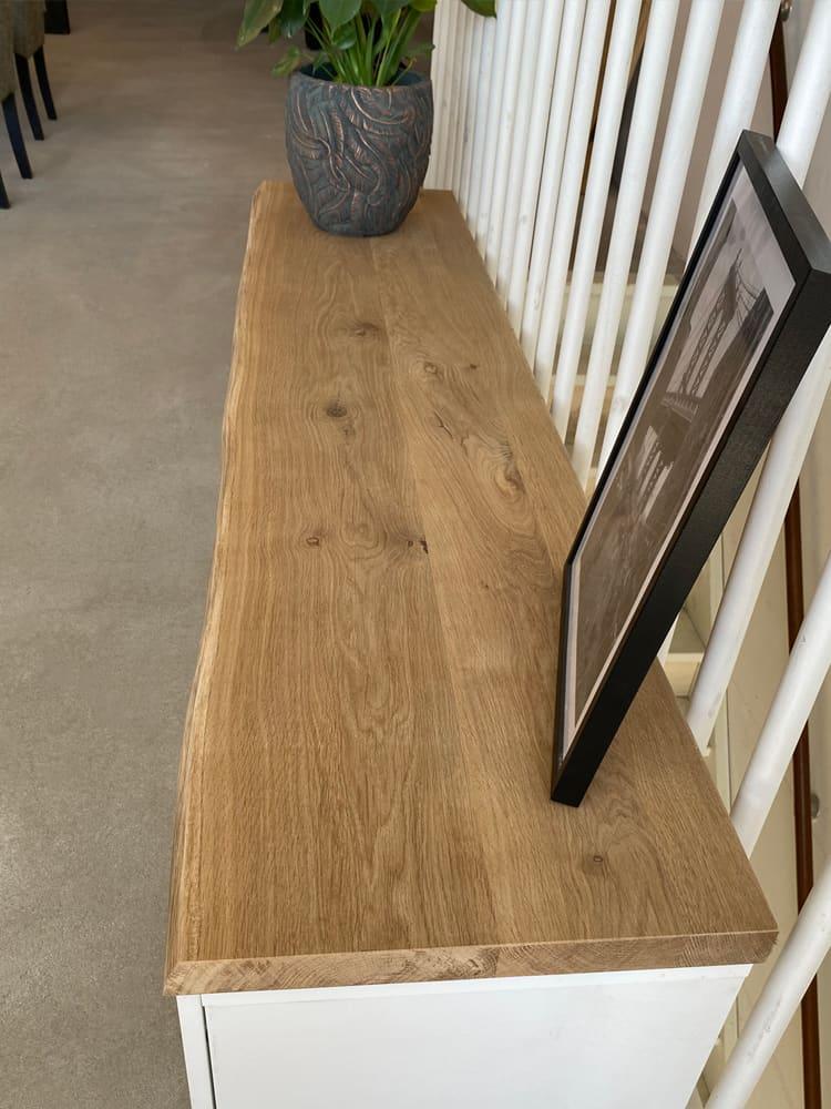Ikea Besta bovenblad van eiken hout