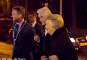 koningin beatrix bezoekt concert nno groningen