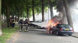 groningen-centrum-preadiiussingel-brand auto-1