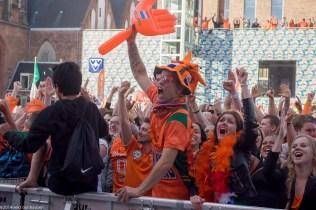 groningen-centrum-oranje wk voetbal-grote markt-2