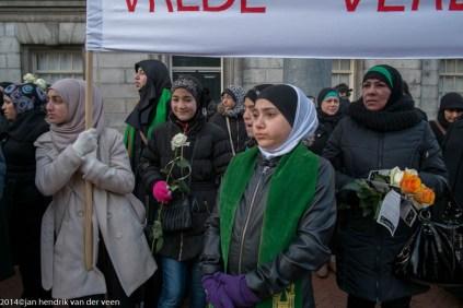 groningen-centrum-grote markt-moslim vredestocht-11