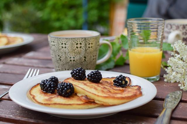 Pannenkoek als ontbijt