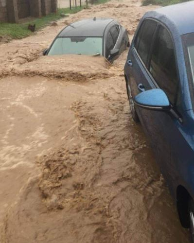 Levels of water are rising in streets of Limpopo and Mpumalanga.