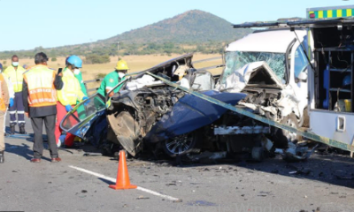 Teen charged with drink-driving after family killed in KZN crash