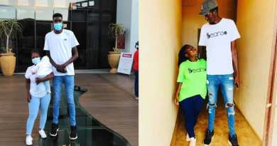 A man has attracted the attention of netizens after he posted an Instagram video showing him towering over his bae.